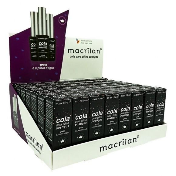 Cola para Cílios Postiços Preta - Macrilan (CA002)