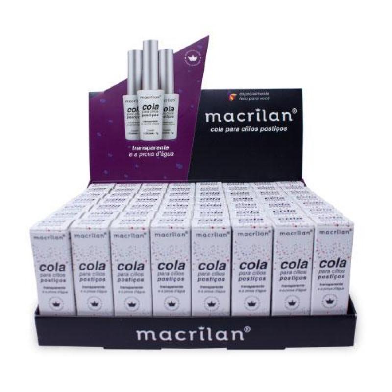 Cola para Cílios Postiços Transparente - Macrilan (CA001)