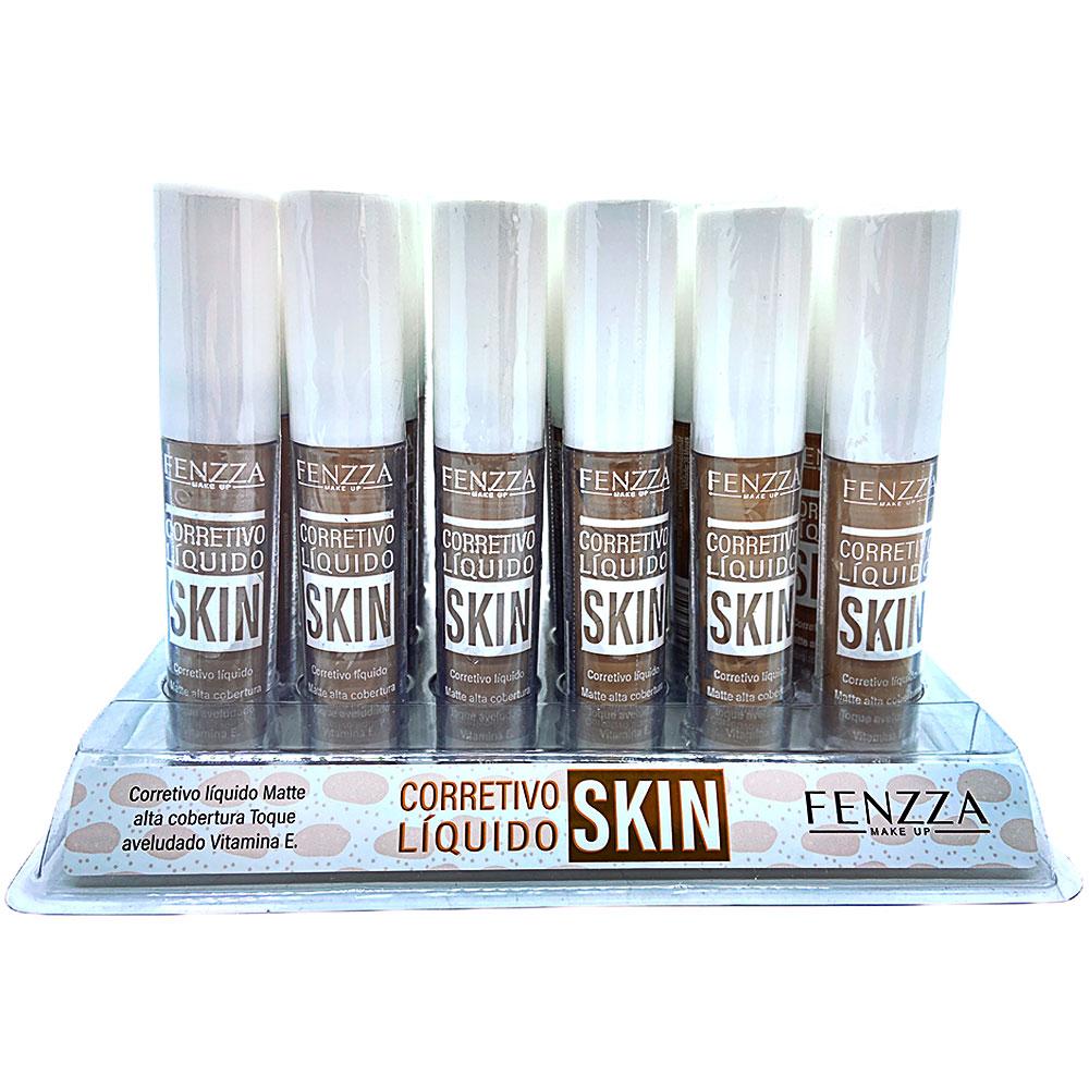 Corretivo Liquido Skin - Fenzza - Box Com 24 Un. (FZ31007)