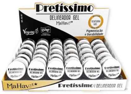 Delineador Gel Pretíssimo - Mahav (DGMV)