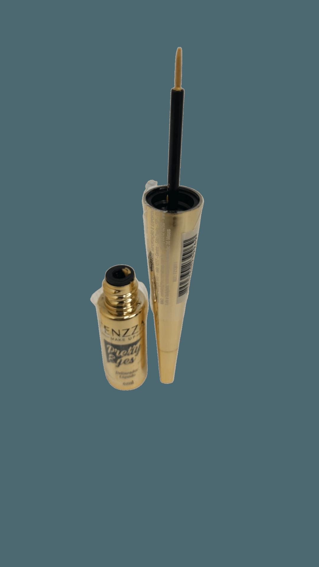 Delineador Líquido Dourado 6ml - Fenzza  (FZ13011)