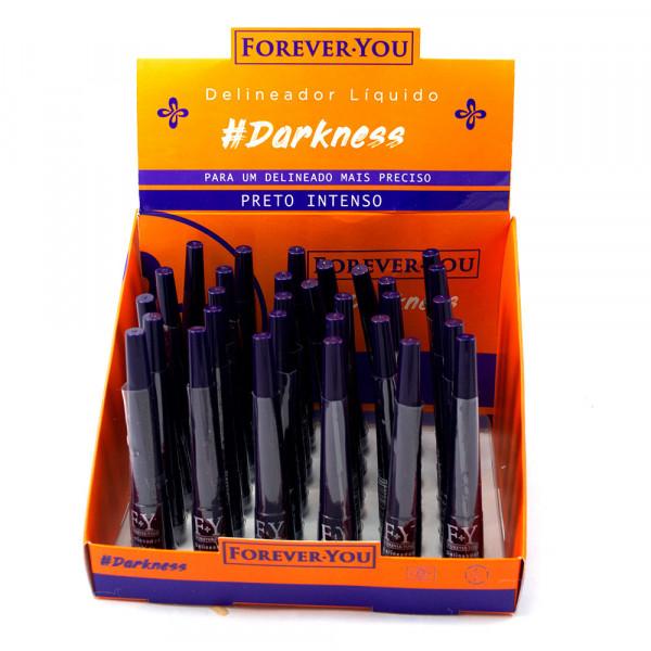 Delineador Líquido Preto Intenso - Forever You  - Box com 30Un. (FY151A1)