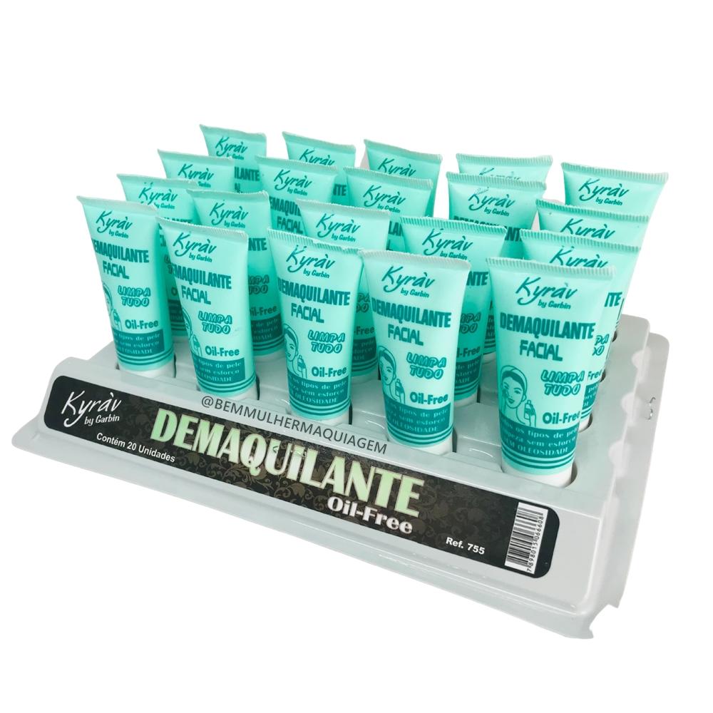 Demaquilante Oil Free Bisnaga - Kyrav - Box com 20Un. (755)