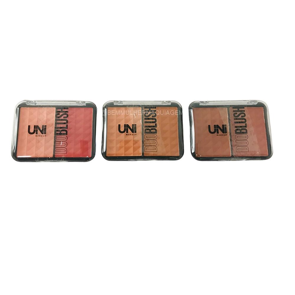 Duo Blush - Uni Make up - Box com 24Un. (UNBS57DS)