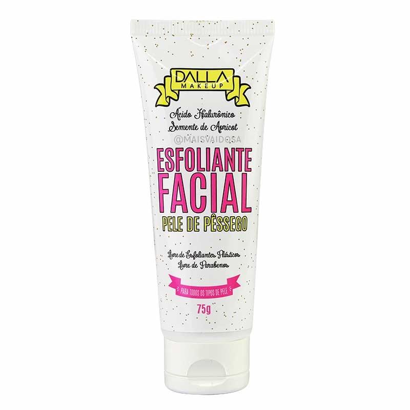Esfoliante Facial Pele de Pêssego ? Dalla Makeup 75g  (DL0826)