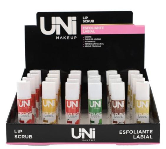 Esfoliante Labial - Uni - Box com 24Un.  (UN-ES203DS)