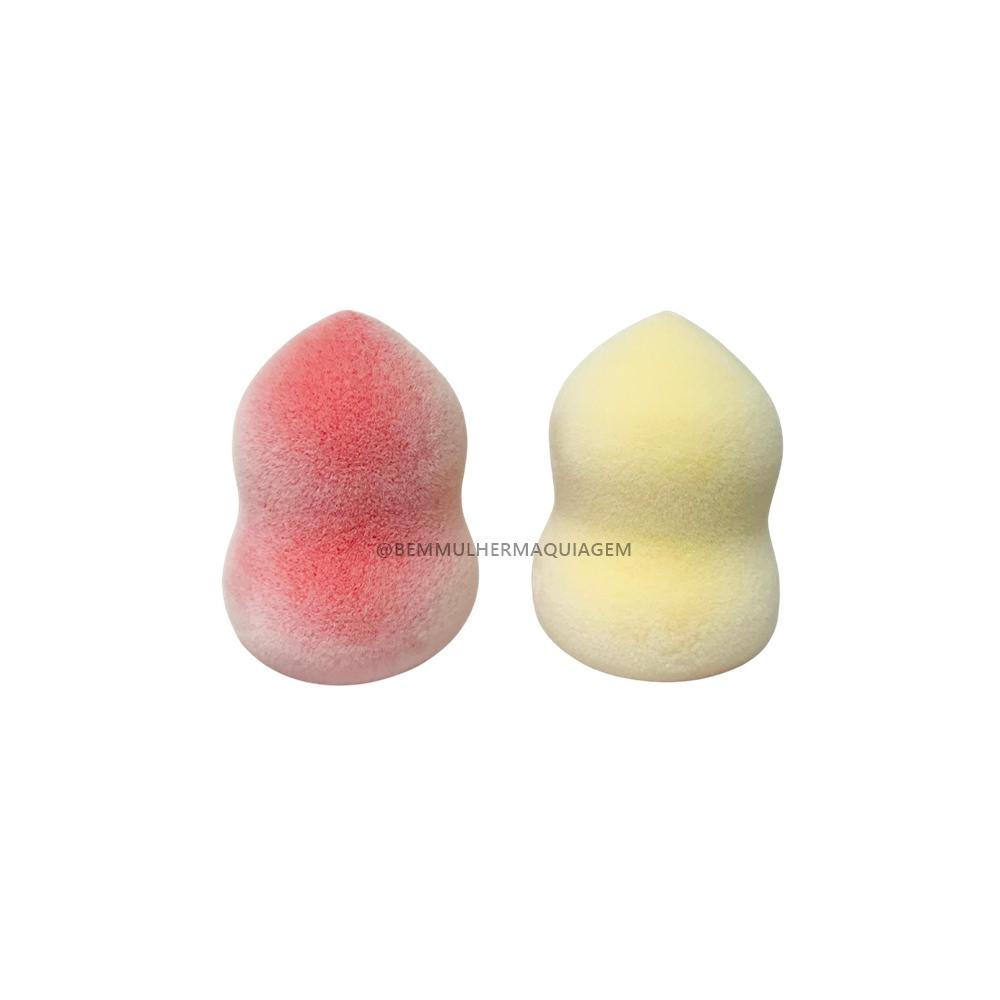 Esponja Sino Microfibra para Maquiagem - Meiustar - Pct com 12Un. (ESP12)