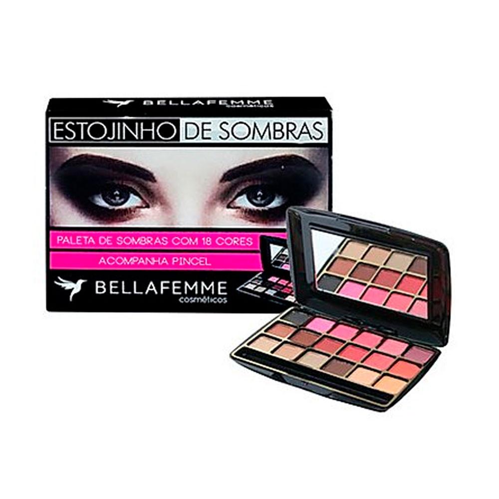 Estojinho de Sombras Bella Femme - BF10021A