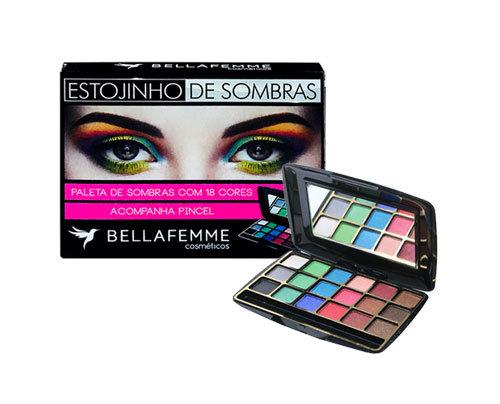Estojinho de Sombras Bella Femme - BF10021B