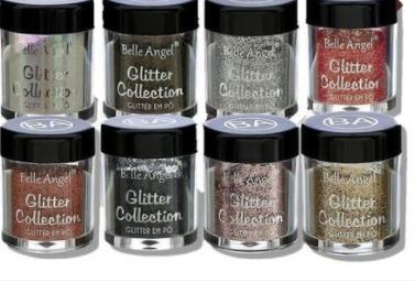 Glitter em Pó Collection - Belle Angel - Box com 48Un. (T024)
