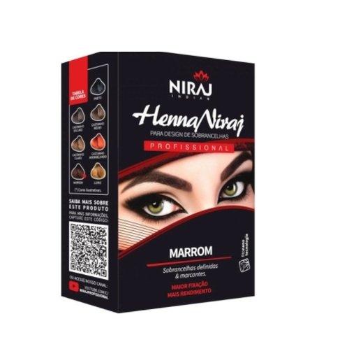 Henna Marrom - Niraj