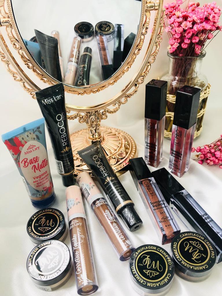 Kit Inicial Miss Lary -  Bem Mulher Maquiagem