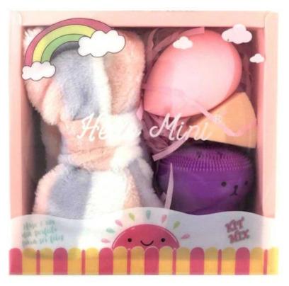 Kit Mix Esponja e Faixa - Hello Mini (KIT320)