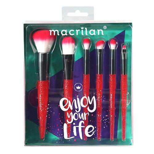 Kit Pincel Enjoy Your Life - Macrilan (KP10-3)