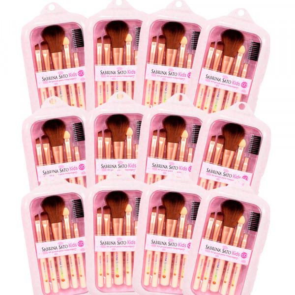Kit Pincel para Maquiagem Kids - Sabrina Sato  (SS743)