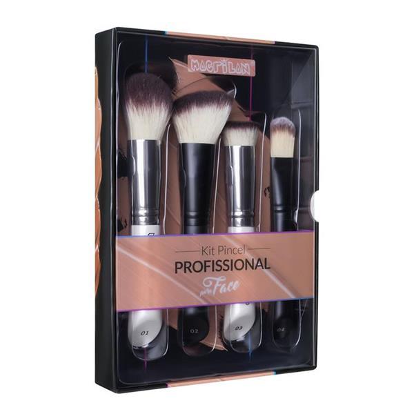 Kit Pincel Profissional para a Face - Macrilan (WB200)