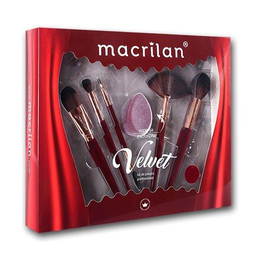 Kit Velvet Vermelho (ED010B) - Macrilan