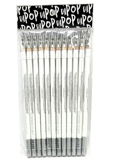 Lápis De Olho Branco - Dapop - Pct com 12Un.(HB97452)