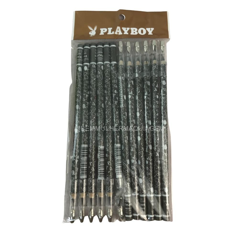Lápis de Sobrancelha  - Playboy - Pct com 12Un. (HB94739)