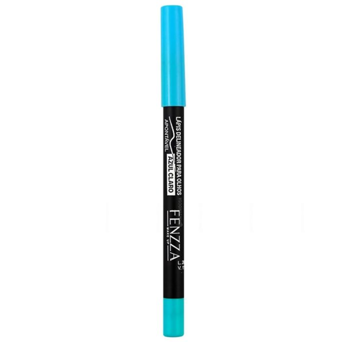 Lápis Delineador Para Olhos Azul Claro (FZ14019) - Fenzza