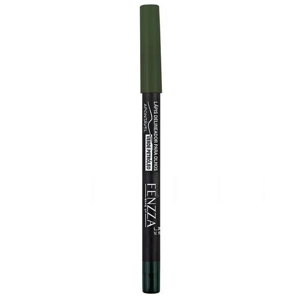 Lápis Delineador Para Olhos Verde Petróleo Fenzza - FZ14018