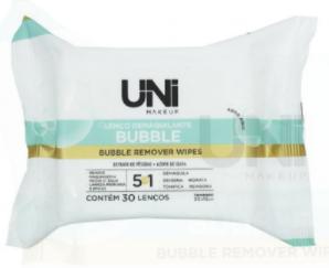 Lenço Demaquilante Bubble - Uni Makeup  (UNLU173BX)