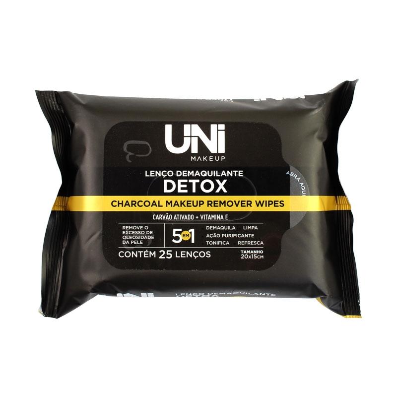 Lenço Demaquilante Detox - Uni Makeup (UNLU01BX)
