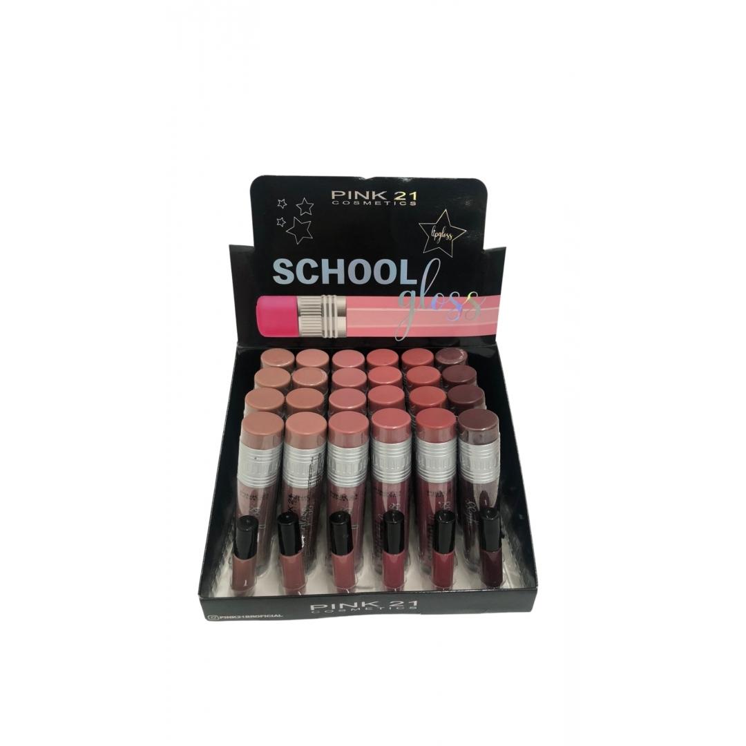Lip Gloss Shool - Pink 21 (CS3026)