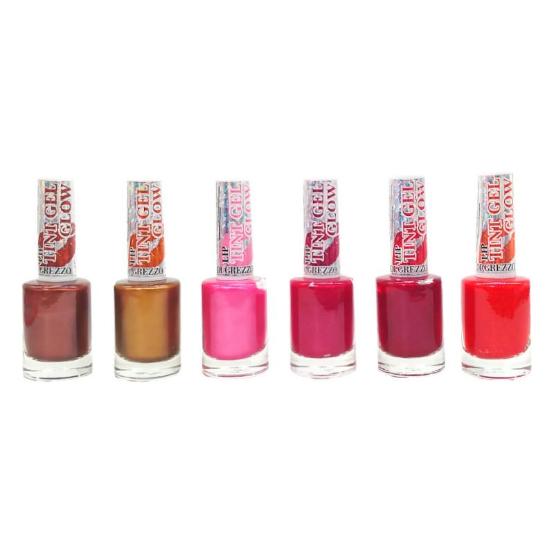 Lip Tint Gel Glow - Di Grezzo  Box Com 24 Un.