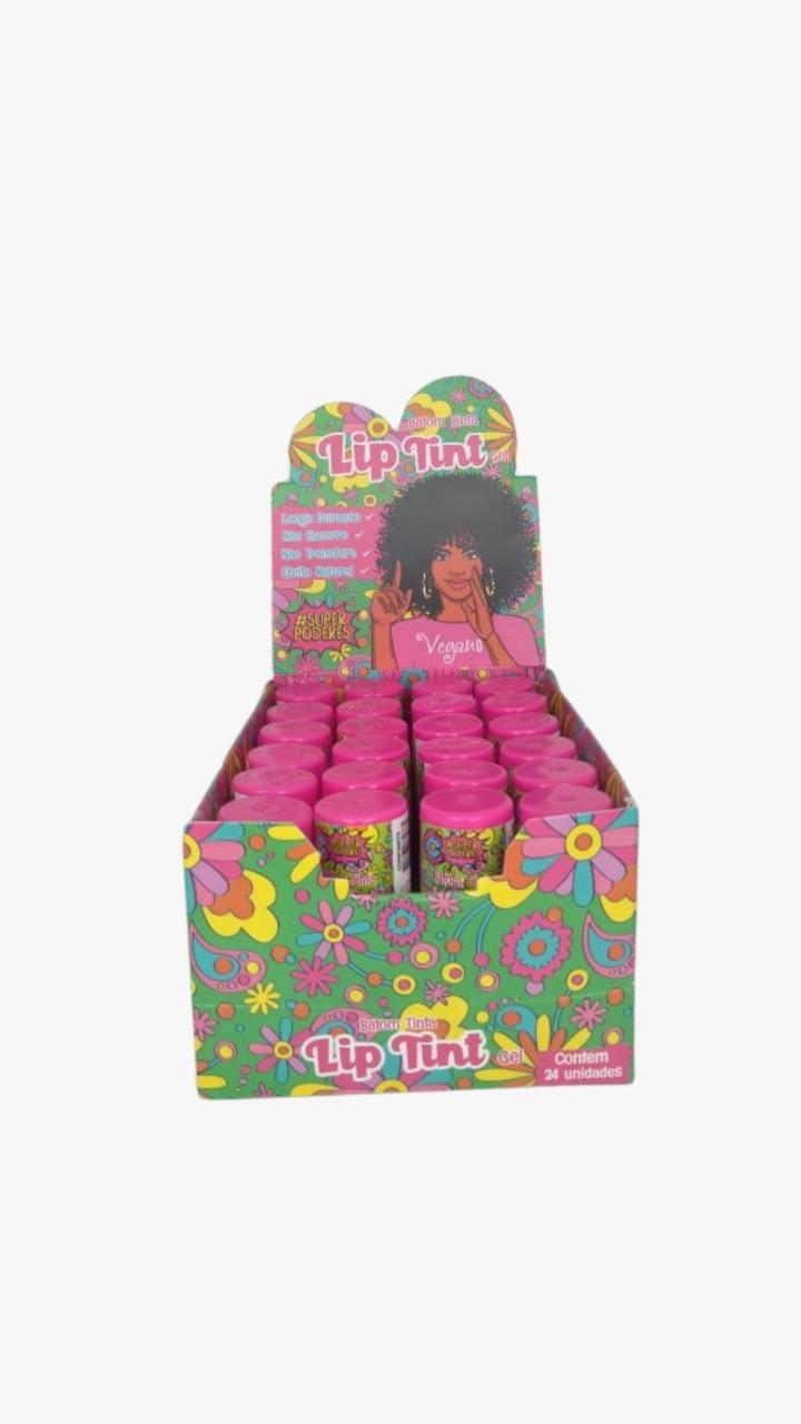 Lip Tint Gel  - Super Poderes - Box com 24Un. (SPT02)