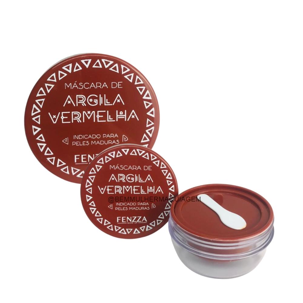 Máscara de Argila Vermelha ? Fenzza (FZ38024)