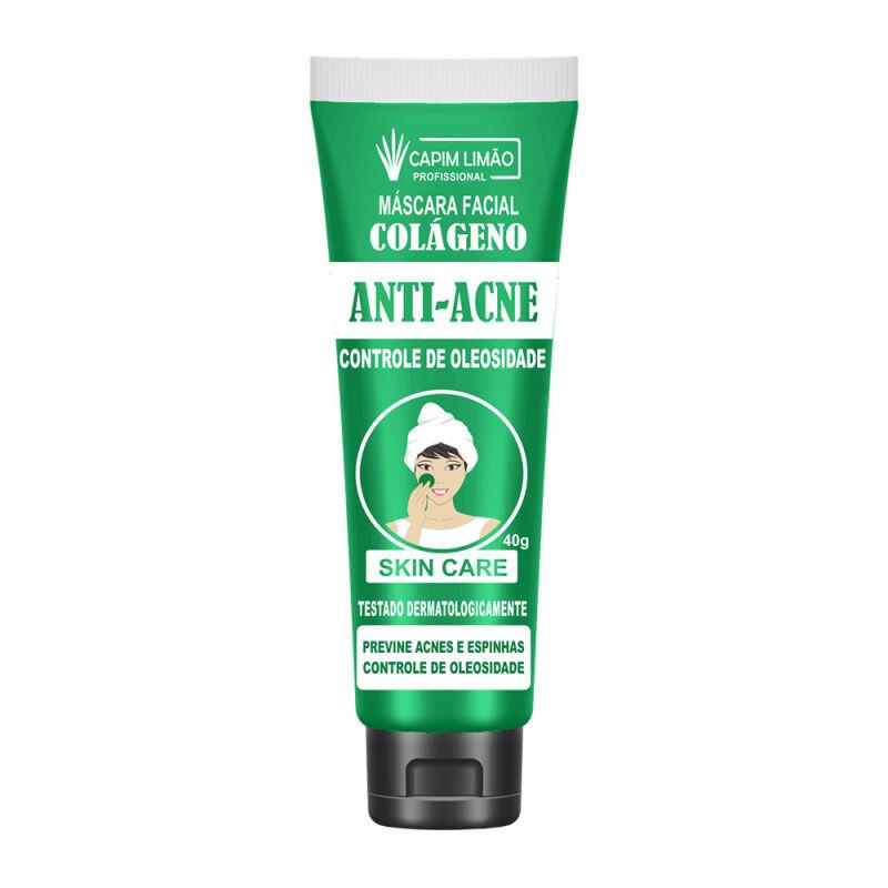 Máscara Facial Anti Acne - Capim Limão 40G (CP16)