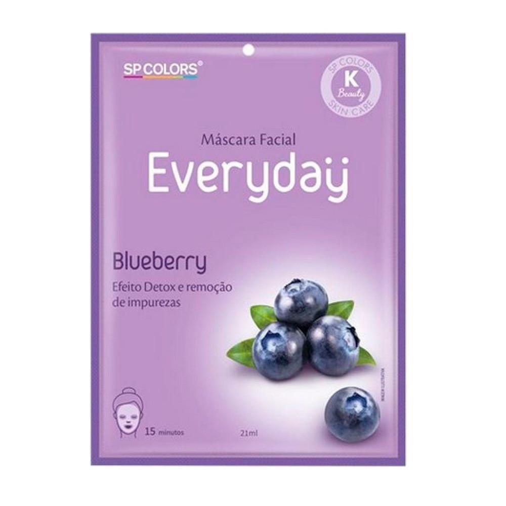 Máscara Facial Blueberry Everyday - SP Colors (EV005)