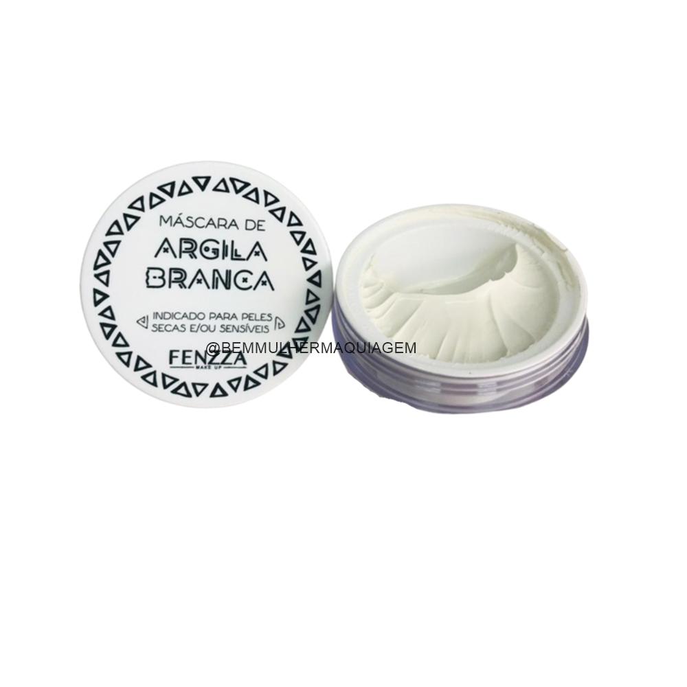 Máscara Facial de Argila Branca - Fenzza (FZ38025)