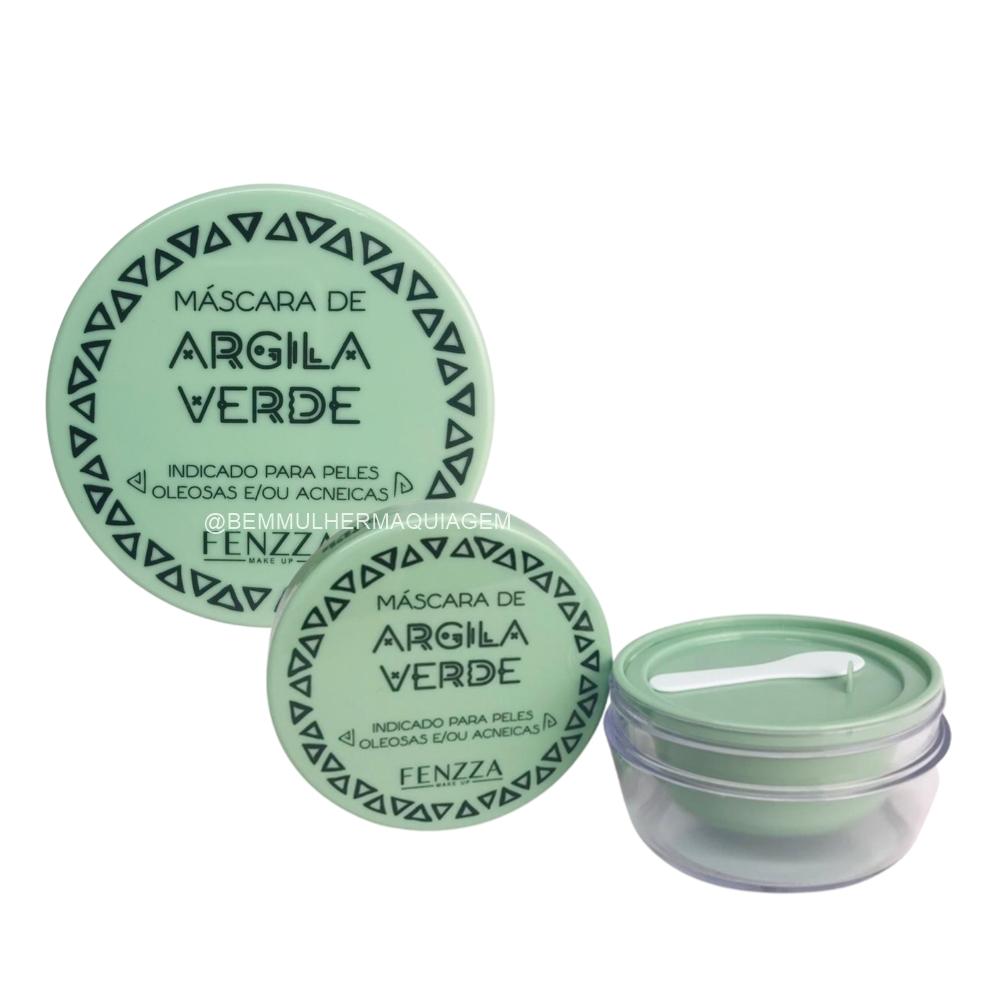 Máscara Facial de Argila Verde - Fenzza (FZ38027)