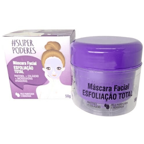 Máscara Facial Esfoliação Total - Super Poderes (ETSP01)