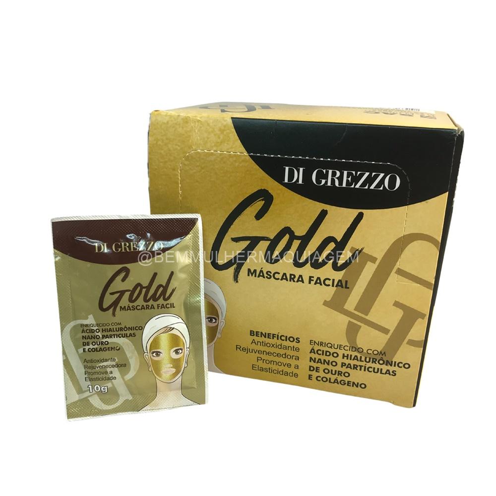 Máscara Facial Gold - Di Grezzo - Box com 50Un.