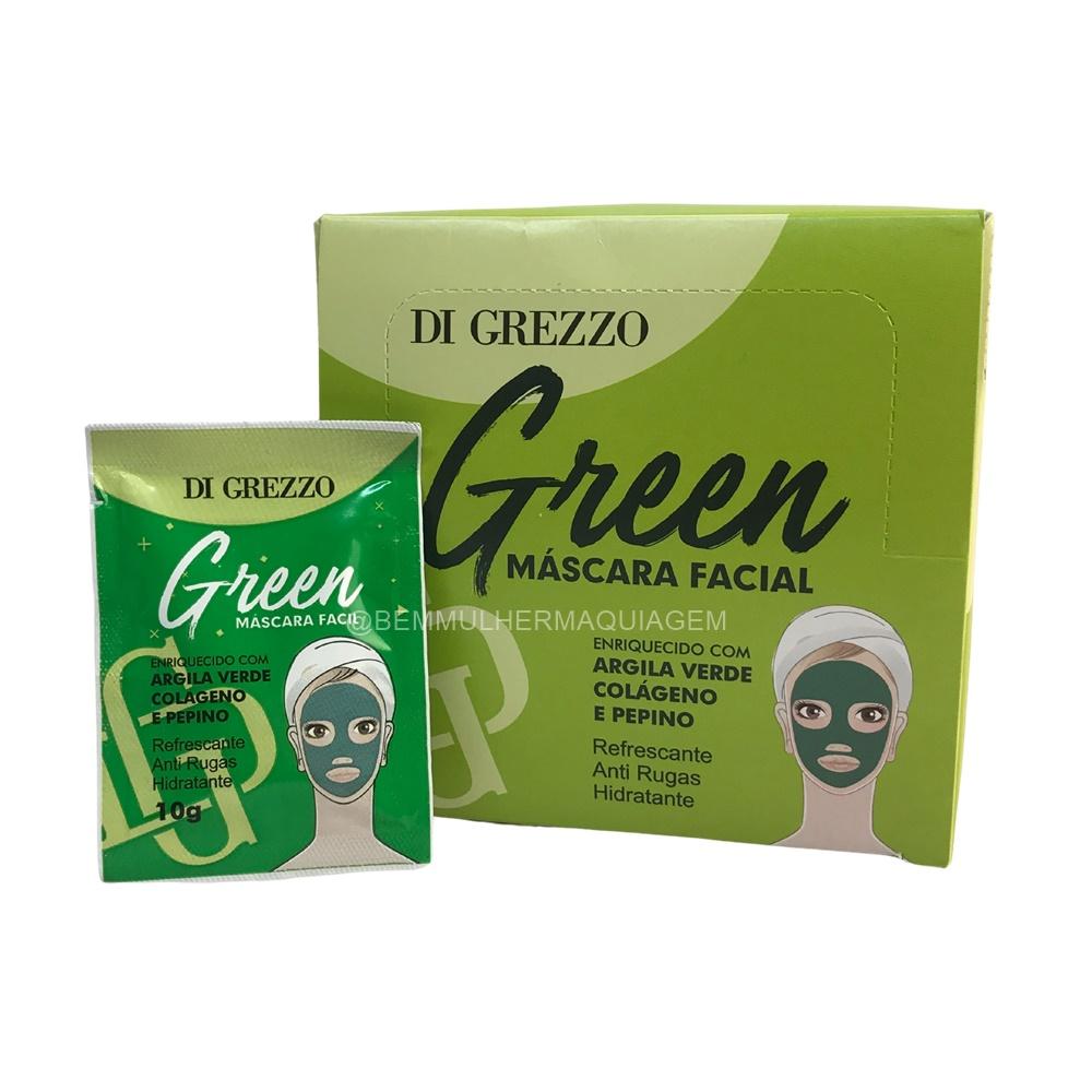 Máscara Facial Green - Di Grezzo - Box com 50Un.