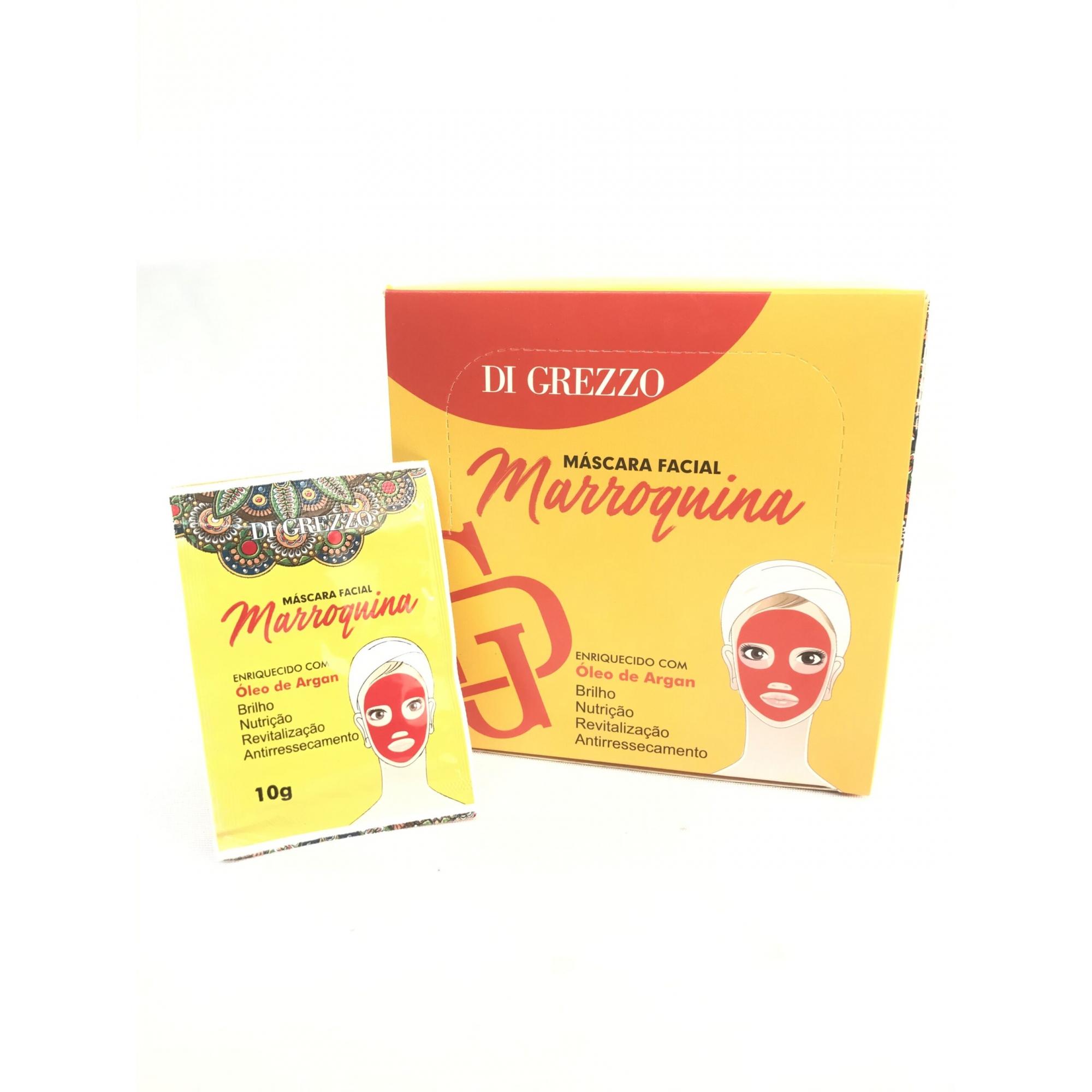 Máscara Facial Marroquina  - Di Grezzo - Box com 50Un.