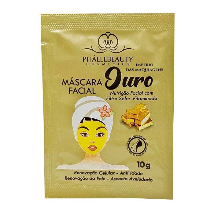 Máscara Facial Ouro - Phallebeauty PH016
