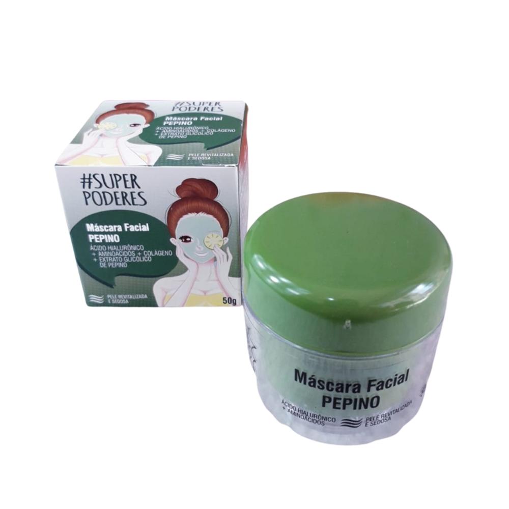 Máscara Facial Pepino - Super Poderes (PPSP01)