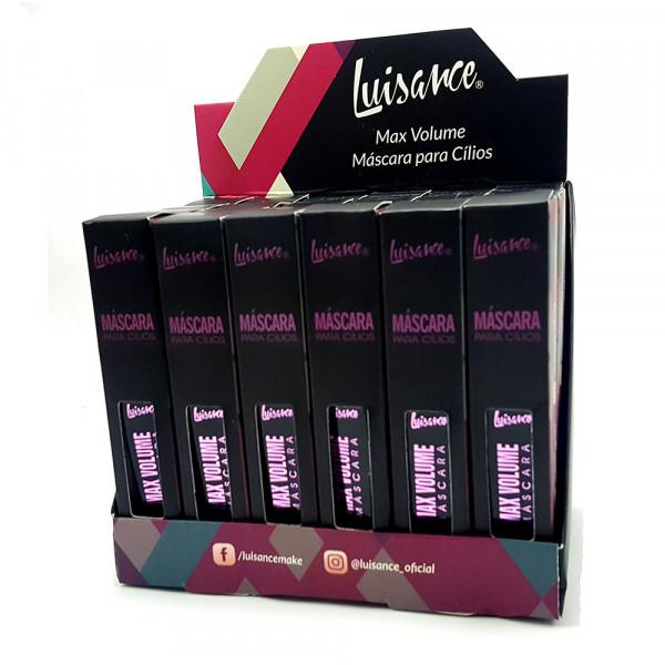 Máscara para Cílios Max Volume - Luisance - Box com 24un. (L3057V)