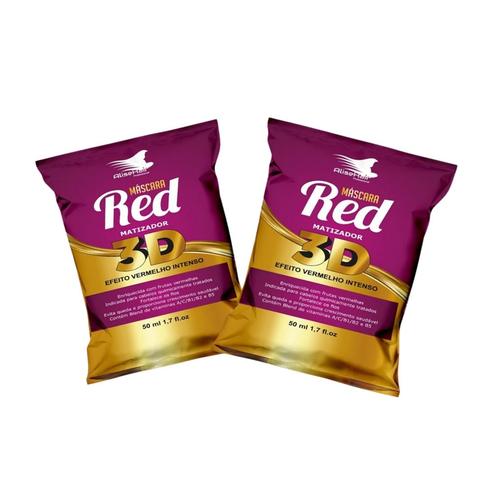 Máscara Red Matizador 3D - Alise Hair