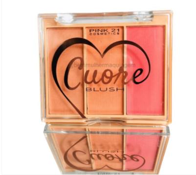 Paleta De Blush Cuore Cor A (CS3102A) - Pink 21