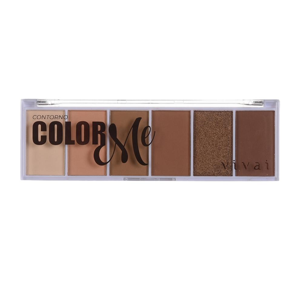 Paleta de Contorno Color Me (4033.1.8) - Vivai