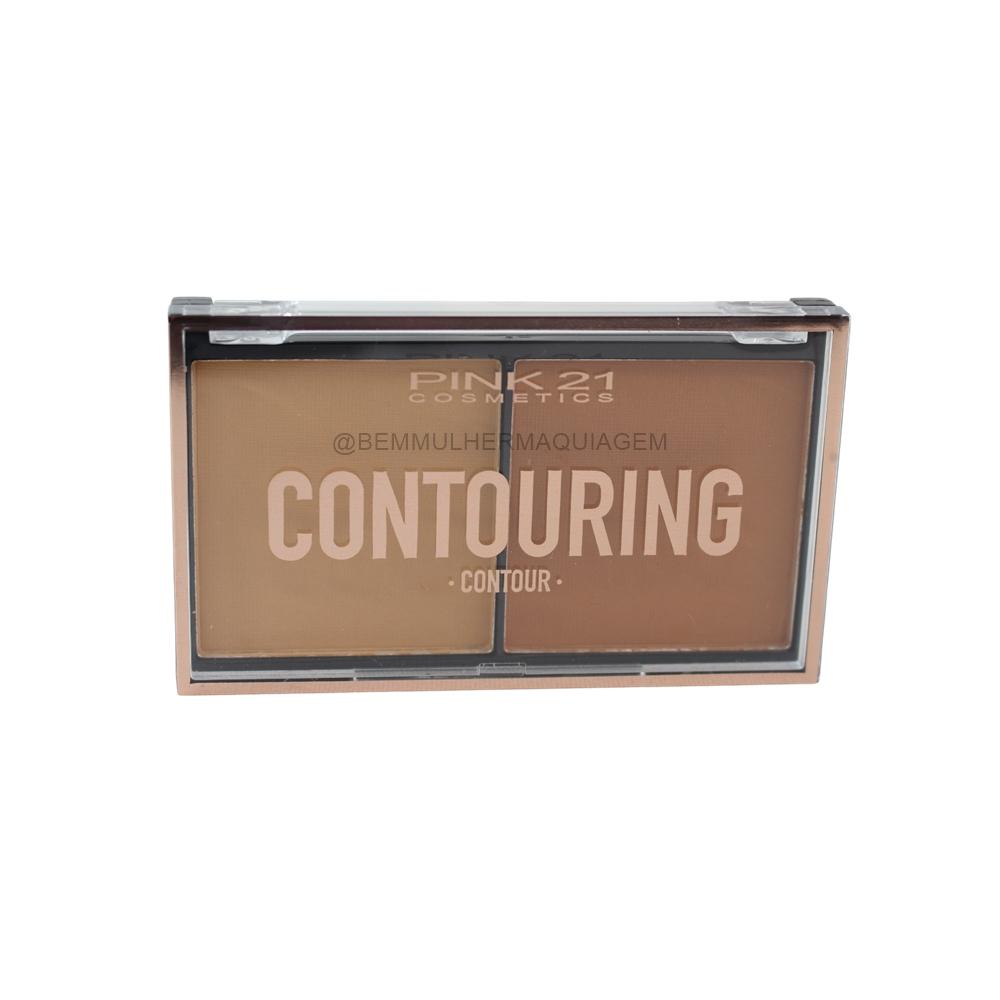 Paleta de Contorno Contouring - Pink 21 Cor 2 (CS3038)