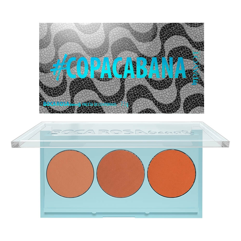 Paleta de Contorno Copacabana Boca Rosa Beauty - Payot 6,5g (71101)