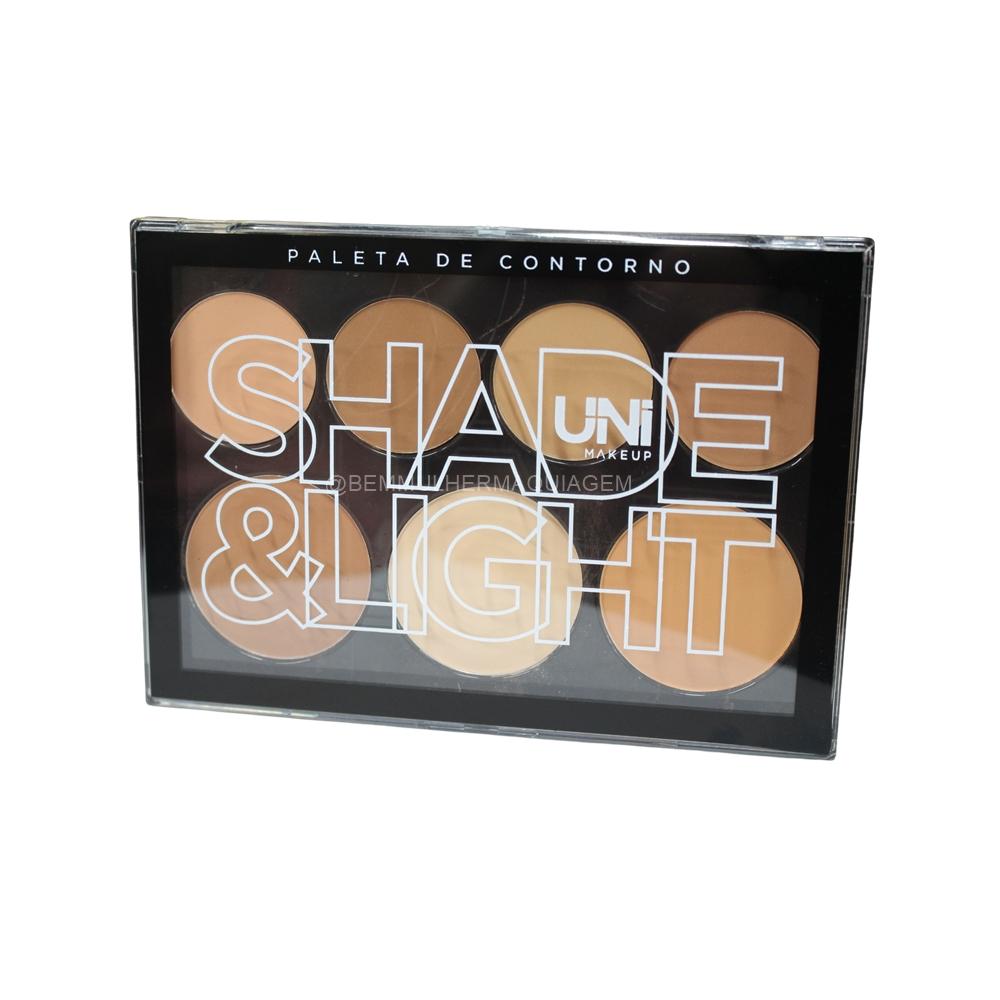 Paleta de Contorno Shade Light - Uni Makeup (UNCO22DS)
