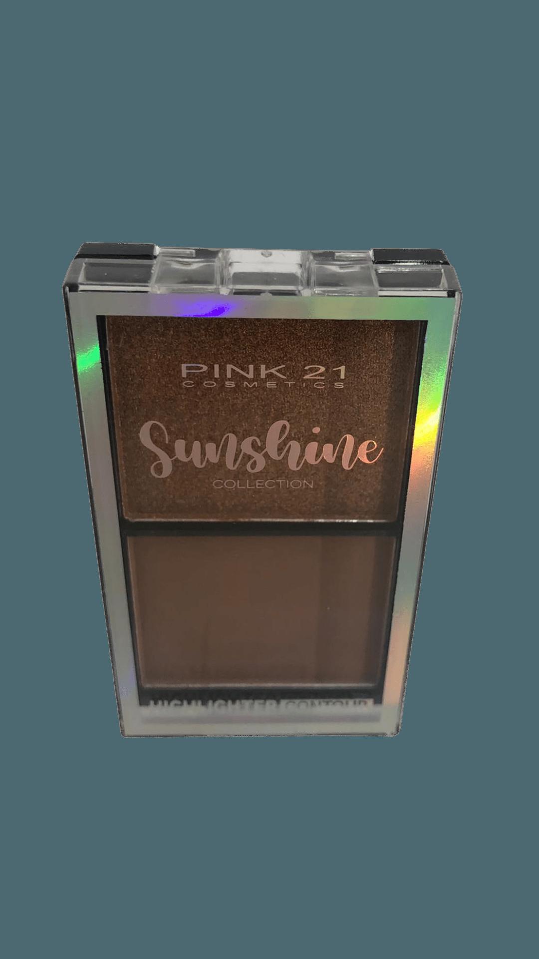 Paleta De Contorno Sunshine Cor 3 - Pink21 (CS3023C)