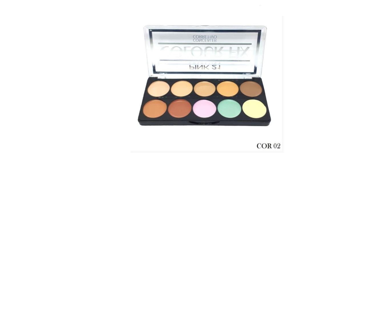 Paleta de Corretivo Colour Fix Cor 2 - Pink 21 (CS2782)
